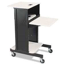 BALT® Adjustable Presentation Cart - 18w x 30d x 40-1/4h - Black/Gray