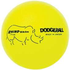 Rhino Skin Dodgeball Set Low Bounce in Neon Yellow