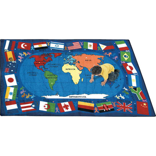 Our Flags of the World Rug is on sale now.