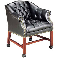 Quick Ship Traditional Series Tufted Conference Chair