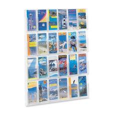 Safco Literature Rack - 24 Pamphlets - 30