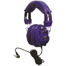 Kids Blue Deluxe Stereo/Mono Headphone with 1/8