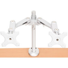 Bolt Mounted Dual Monitor Arm