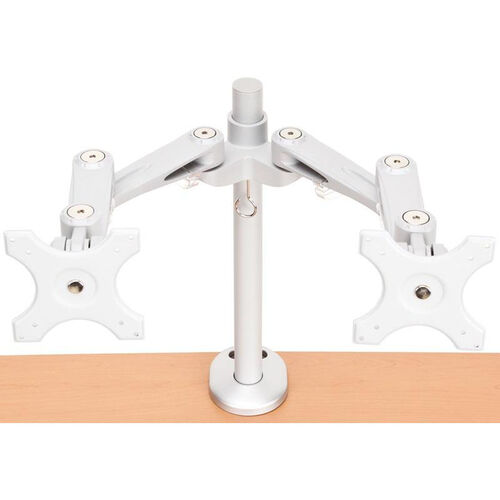 Our Bolt Mounted Dual Monitor Arm is on sale now.