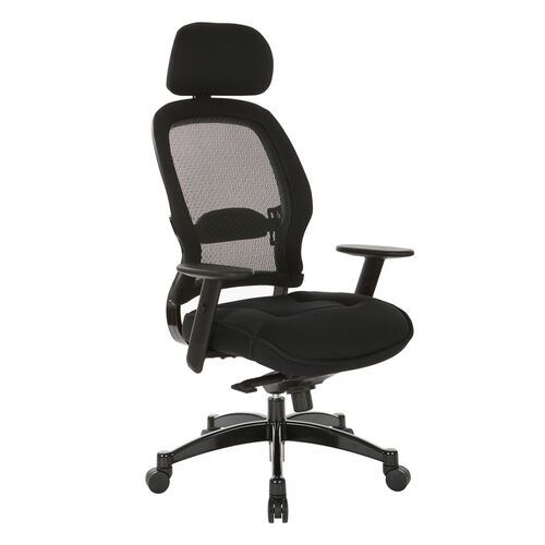 Our Space Breathable Mesh Back and Mesh Seat Managers Chair with Headrest is on sale now.
