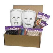 Chenille Kraft Company Plastic Masks Classroom Activities - 6 Sad/6 Happy
