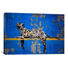Yankee Stadium Tiger by Banksy Gallery Wrapped Canvas Artwork