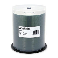Verbatim 52X 80 Min. Silver Cd-R - Pack Of 100