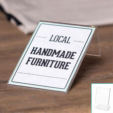 10 Mini Tabletop Sign Holder 3