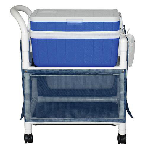 Our Ice Cart with Skirt Cover and Casters - 48 Quart - 20