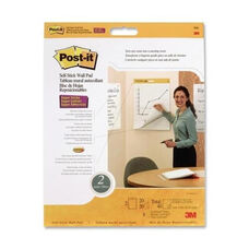 3M Self -Stick Wall Pad -Plain Rld. -20 Sheets -20