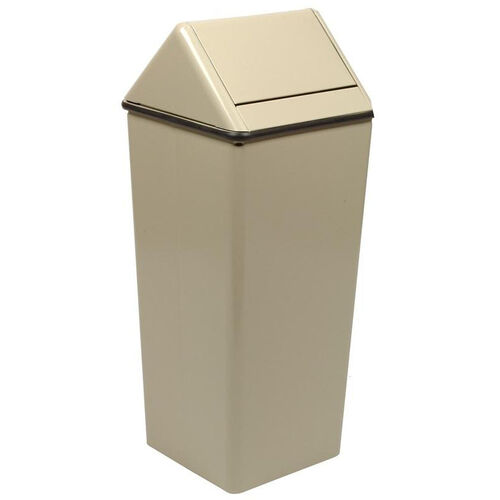 Our 21 Gallon Swing-Top Receptacle with 4 Raised Feet - Almond is on sale now.