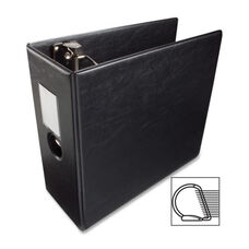 Business Source D Ring Binder withLabel Holder - Hvy Dty - 5