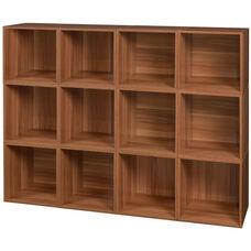 Niche Cubo Wooden Storage Case - Set of 12 Cubes - Cherry