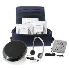 Ultra Portable 4 Station CD Listening Center