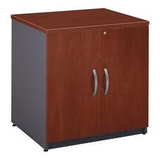 Series C 30'' W x 24'' D Storage Cabinet - Hansen Cherry and Graphite Gray