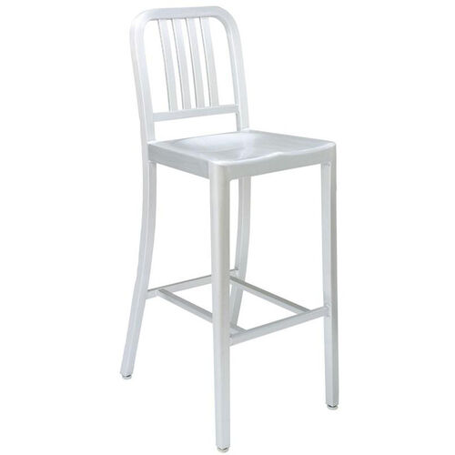 Our Outdoor Aluminum Armless Barstool - Silver is on sale now.
