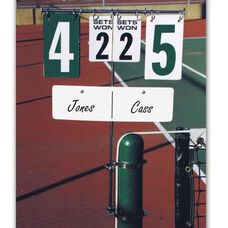 Tennis Steel Swivel Base Scorekeeper
