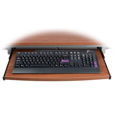 Keyboard Tray For Training Tables - Cherry