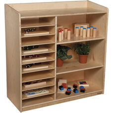 Sensorial Discovery Tuff-Gloss UV Finished Shelving without Trays - Assembled - 36