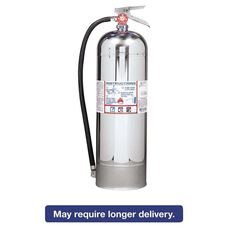 Kidde ProPlus 2.5 W H2O Fire Extinguisher - 2.5gal - 20.86lb - 2-A
