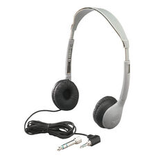 Schoolmate Personal Mono/Stereo Headphone with Leatherette