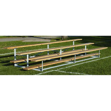 Build-Your-Own 16 Foot Long 3 Tier Outdoor Bleacher