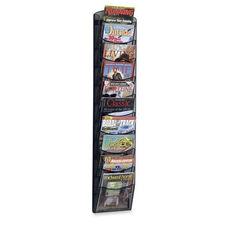 Safco Mesh Magazine Rack -10 Pockets -10 1/4