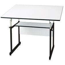 Black WorkMaster Jr Drawing Table - 31