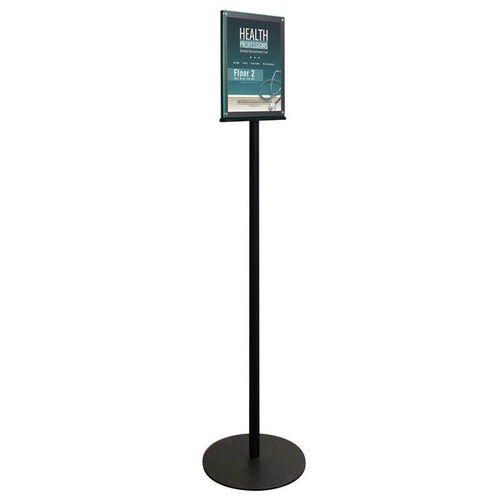 Our Double Sided Magnetic Sign Display Stand - Black is on sale now.