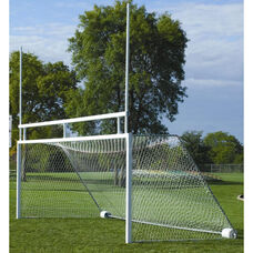 Combination Football and Soccer Portable Goal