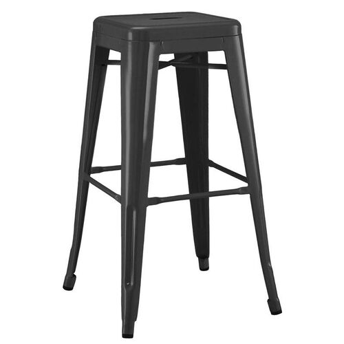 Our Dreux Matte Black Steel Counter Stool - Set of 4 is on sale now.