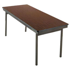 Customizable 700 Series Multi Purpose Rectangular Deluxe Hotel Banquet/Training Table with Plywood Core Top - 36''W x 96''D x 30''H
