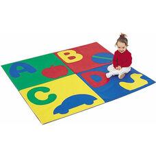 Multicolor ABC Soft Crawly Mat