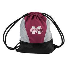 Mississippi State University Team Logo Spring Drawstring Backsack