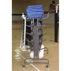 Multi-Court Volleyball Storage System