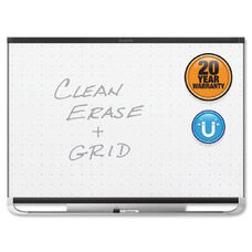 Quartet Prestige 2 Total Erase Magnetic Whiteboards - White - Black Aluminum