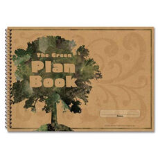 Carson-Dellosa Publishing Green Plan Book - 96 Pages - 9 -1/4