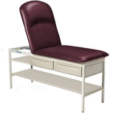 Adjustable Pillow Top Element Treatment Table with Shelf and Drawers