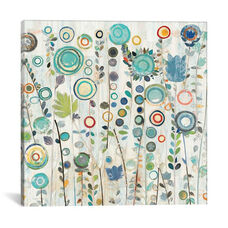 Ocean Garden I Square by Candra Boggs Gallery Wrapped Canvas Artwork