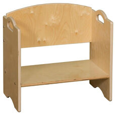 Contender Stackable Wooden Bookshelf - Assembled - 20