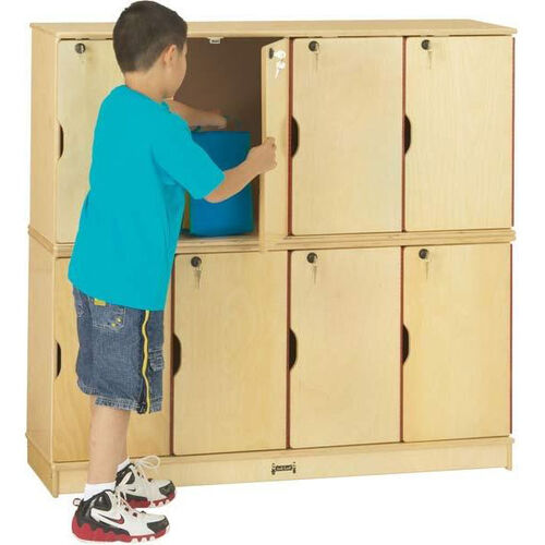 Stacking Lockable Lockers - 8 Individual Lockers