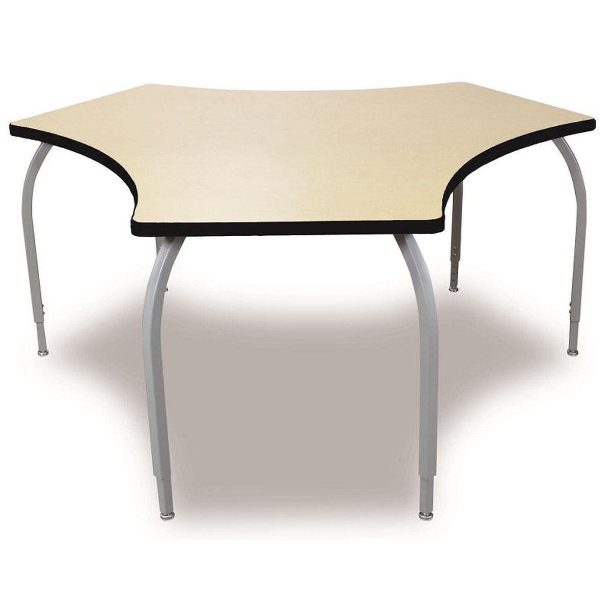ELO Tri High Adjustable Desk ELOADJ SchoolFurnitureLesscom - 26 high end table