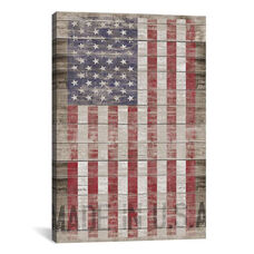 American Flag II by Diego Tirigall Gallery Wrapped Canvas Artwork