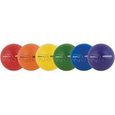 Rhino Skin Rainbow Dodgeball Set Low Bounce