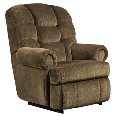 Big & Tall 350 lb. Capacity Gazette Basil Microfiber Recliner