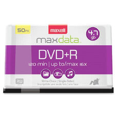 Maxell 16X Speed Dvd+R Spindle - Pack Of 50