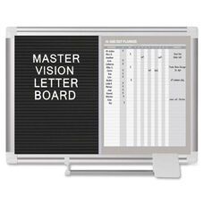 Bi-Silque Mastervsn In/Out Dry-Erase Letter Board