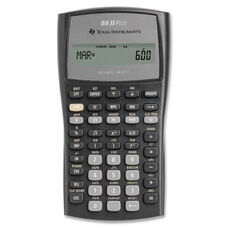 Texas Instruments Financial Calc. -with Slide Case - 3