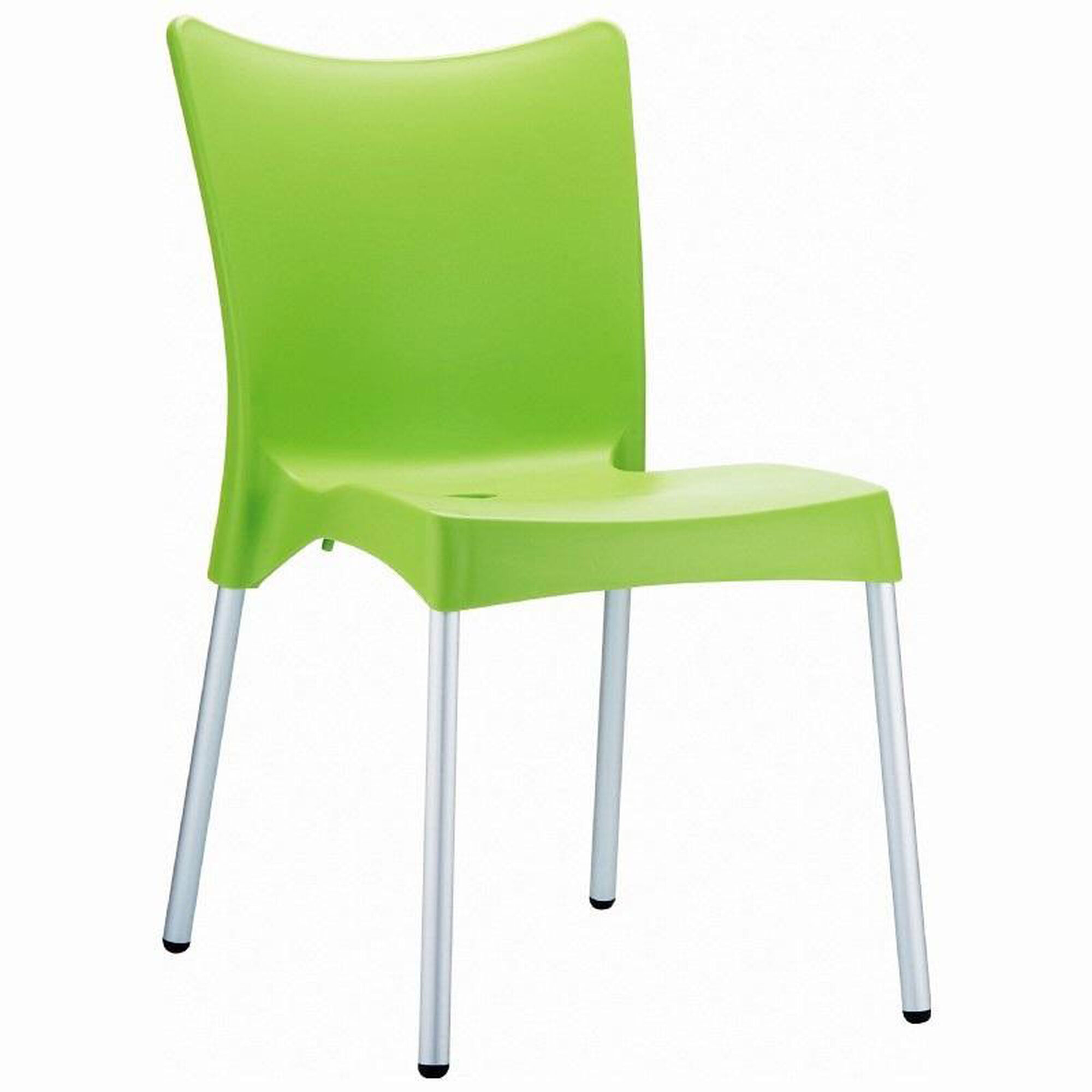 Prime Juliette Outdoor Resin Stackable Dining Chair With Aluminum Legs Apple Green Ncnpc Chair Design For Home Ncnpcorg